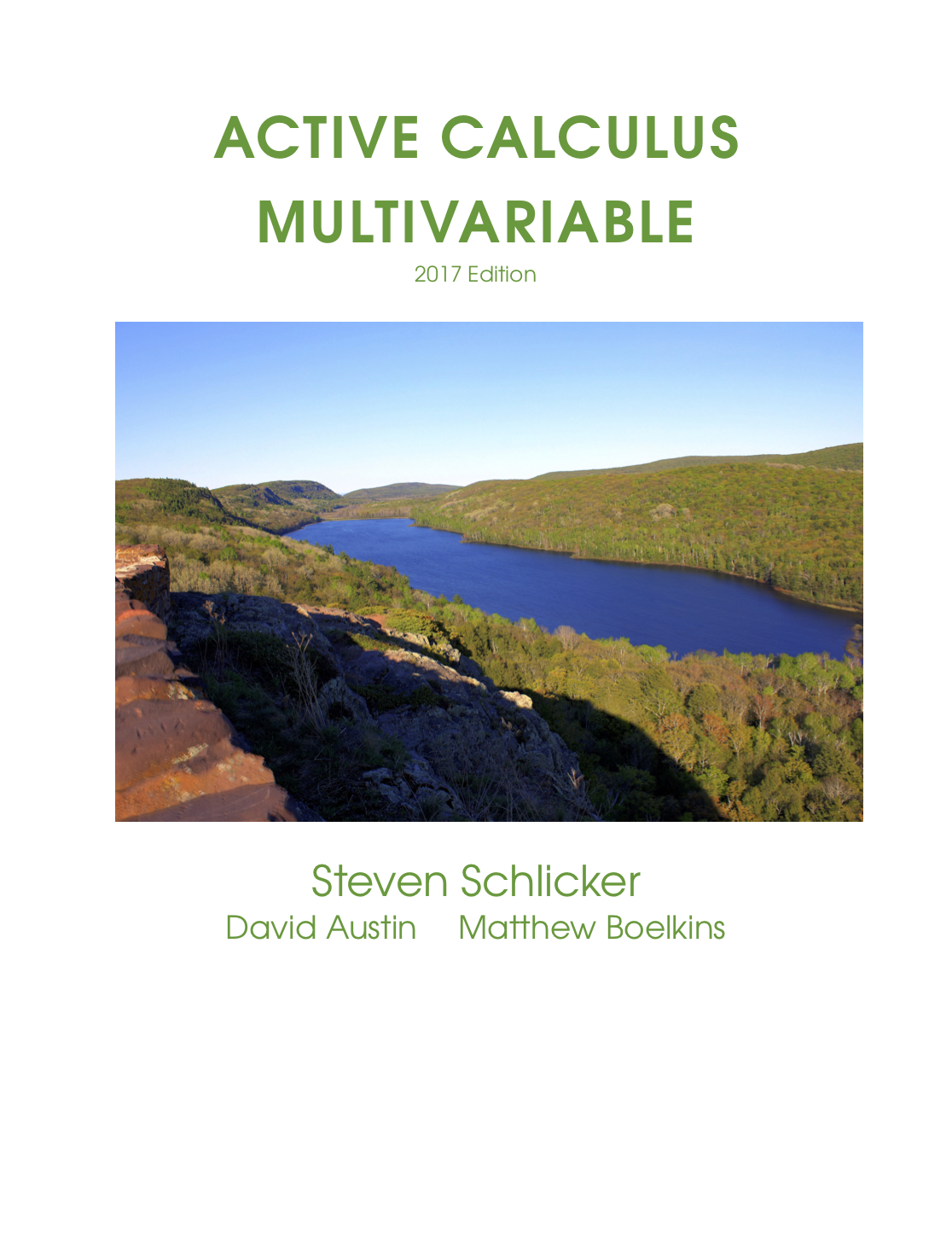 Active Calculus - Multivariable - 2017 Edition